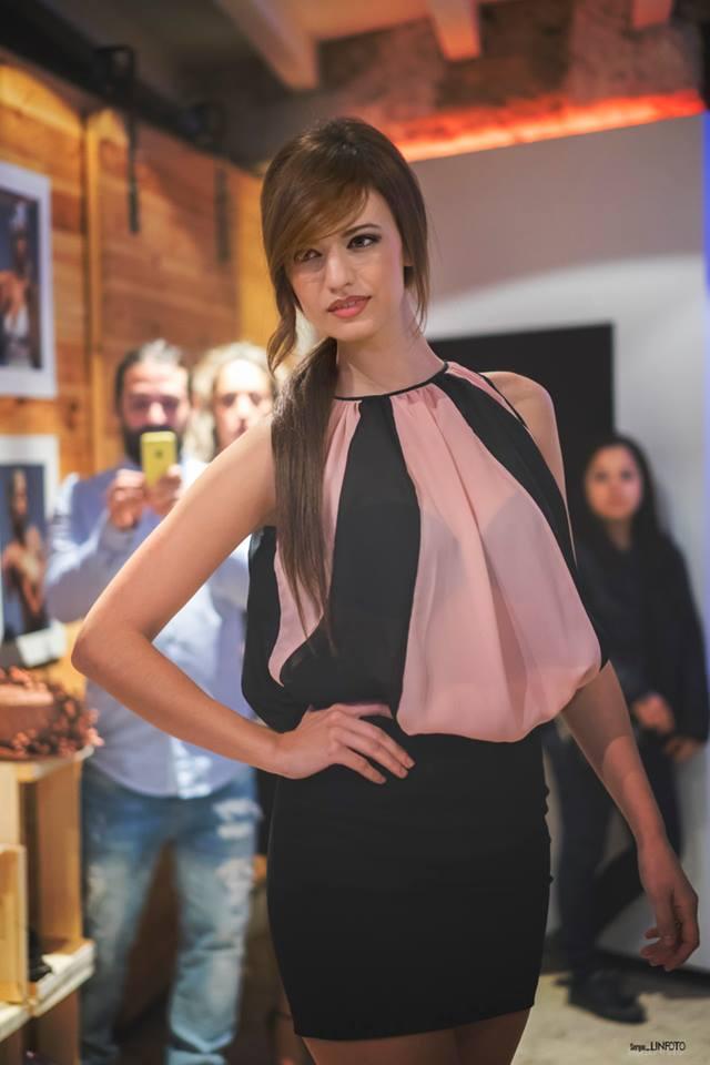 Vestido que lució Veronica Tena en Valencia - Evento Moda Nova Events